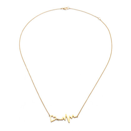 GOLD PULSE NECKLACE