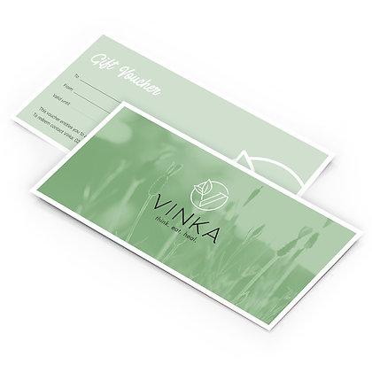 VINKA gift voucher