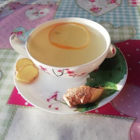 The Joy of Ginger Tea!