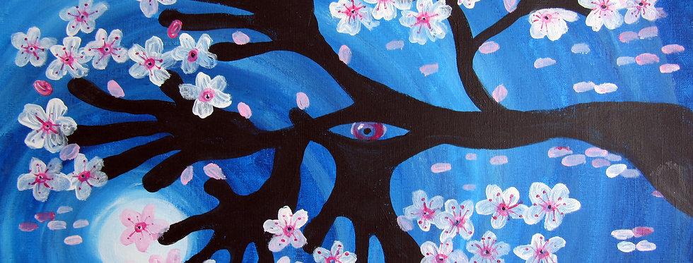 CherryBlossoms Handtree no.2