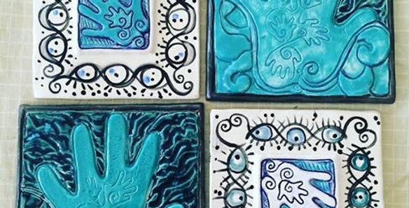 EyeFramed and Inspiration Tiles