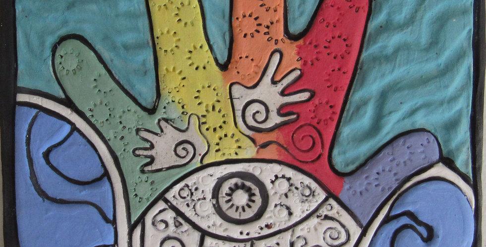 57 Colors Hamsa