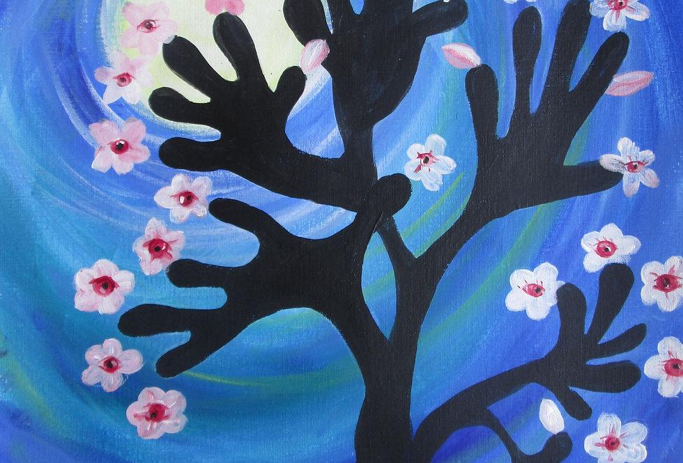 CherryBlossom HandTree