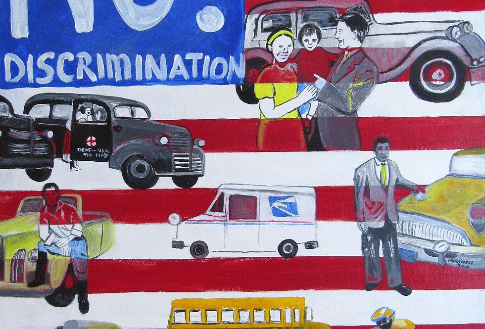 No discrimination on Ground poster