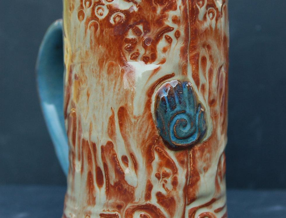 Handbutton mug