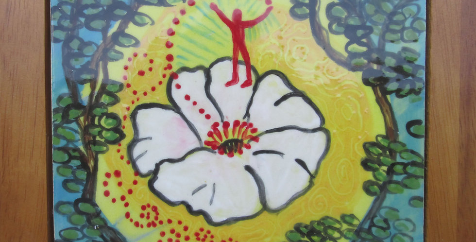 GA Flower state- Cherokee Rose.
