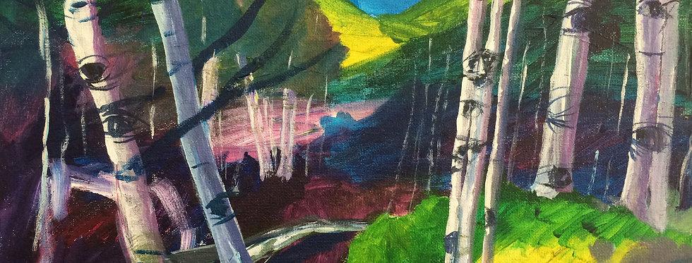 Aspen Tree Eyes