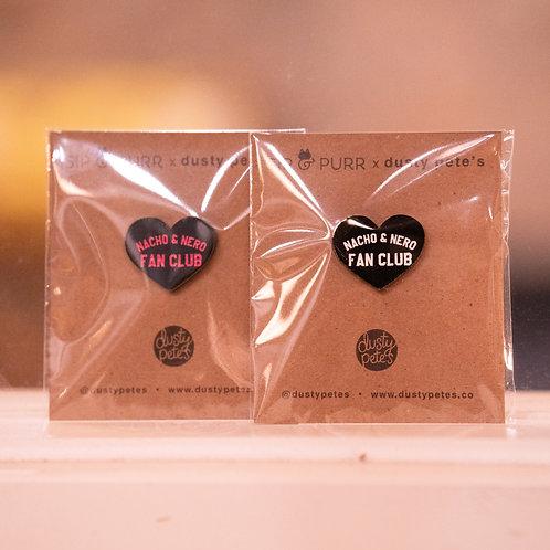 Nacho & Nero Fan Club Pins