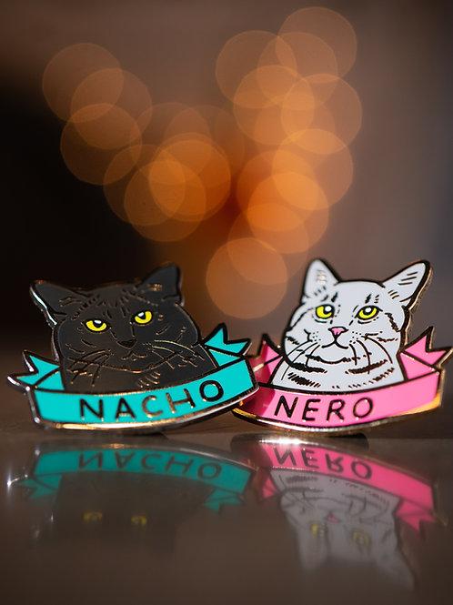 Nacho & Nero Pin