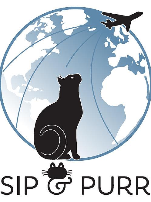 Sponsor an International Sip & Purr Scholarship Cat