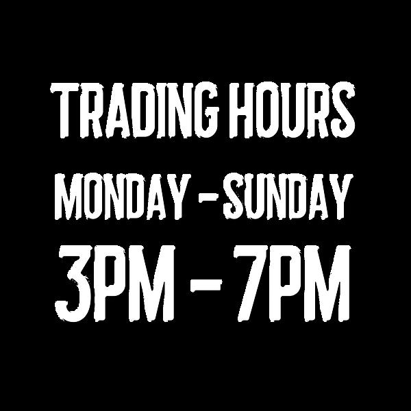 Lockdown Trading Hours Monday - Sunday 3