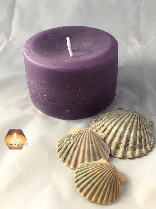Short Pillar Candle