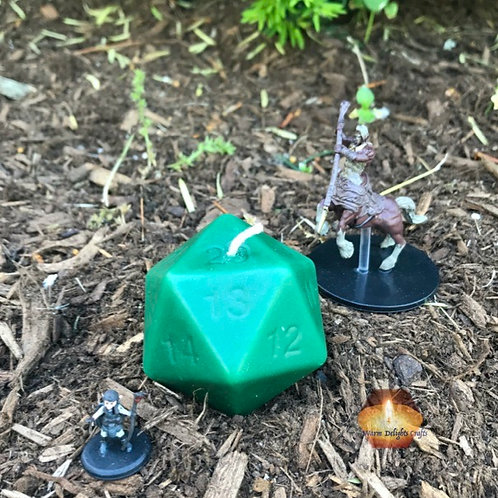 d20 Candle