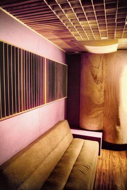 Salle régie, studio A
