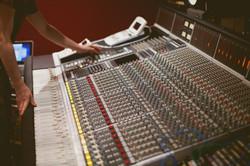 Console SSL 4000E, studio A