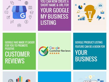 Google My Business updates!