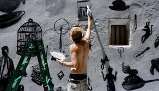 El 'street art' vuelve a invadir Fanzara