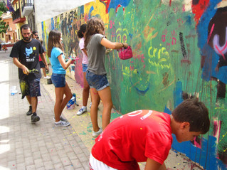 How embracing graffiti stopped one Spanish village going to the wall