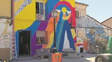 Fanzara vuelve a reinventarse de la mano del arte urbano