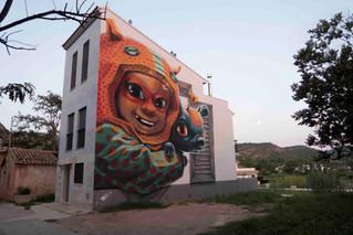 El Museo Inacabado de Arte Urbano de Fanzara MIAU continua con sus actividades