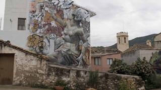 Arte urbano en las calles de Fanzara