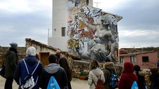 El pueblo valenciano que resucitó gracias al arte urbano