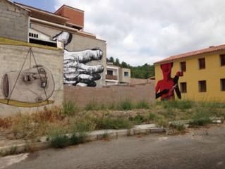 Fanzara, la petita capital de l'art de carrer