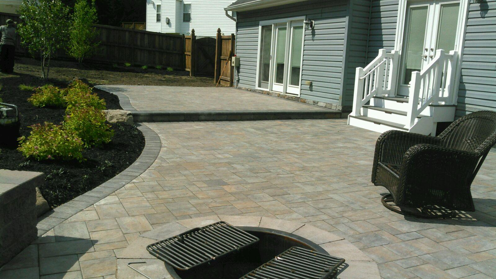 Paver Patio - Port Republic
