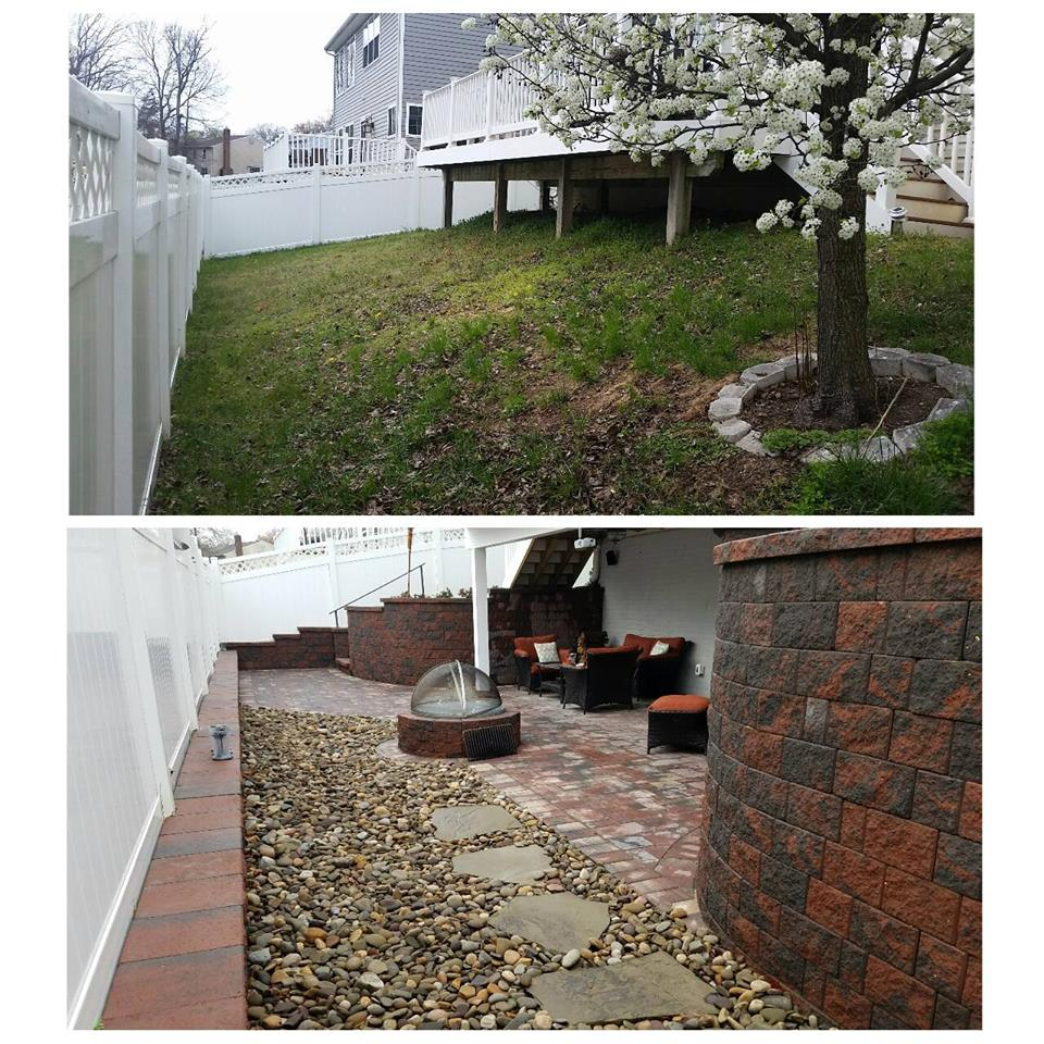Severn MD Backyard makeover