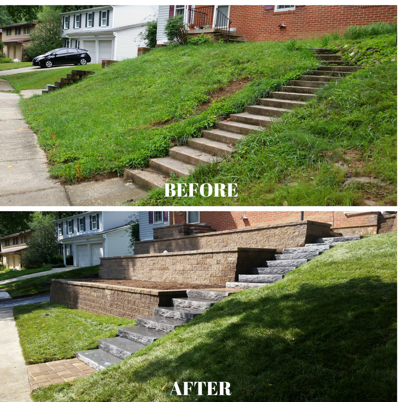 Retaining Wall - Columbia MD