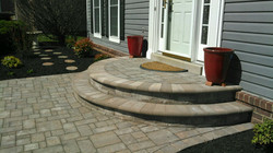 Bowie Front Walkway Paver