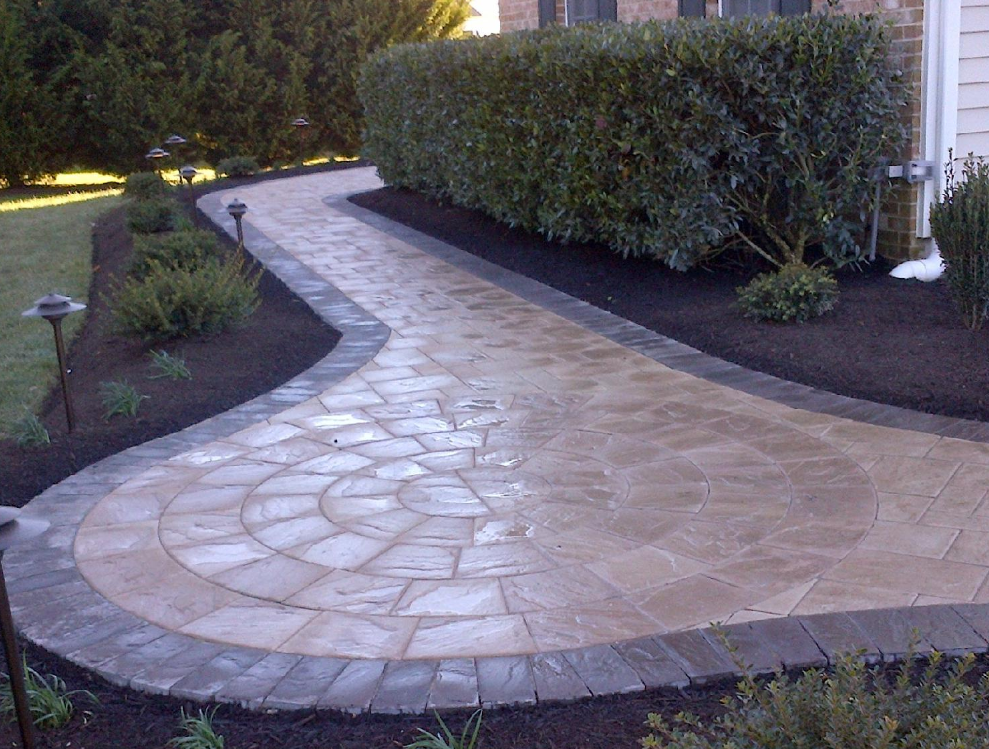 Howard County Paver Install