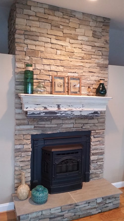 Davidsonville Fireplace Veneer