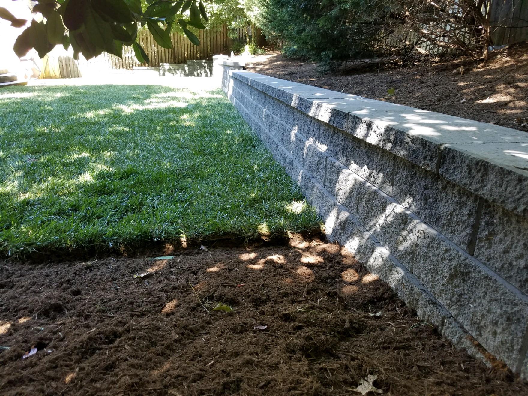 Annapolis Retaining Wall