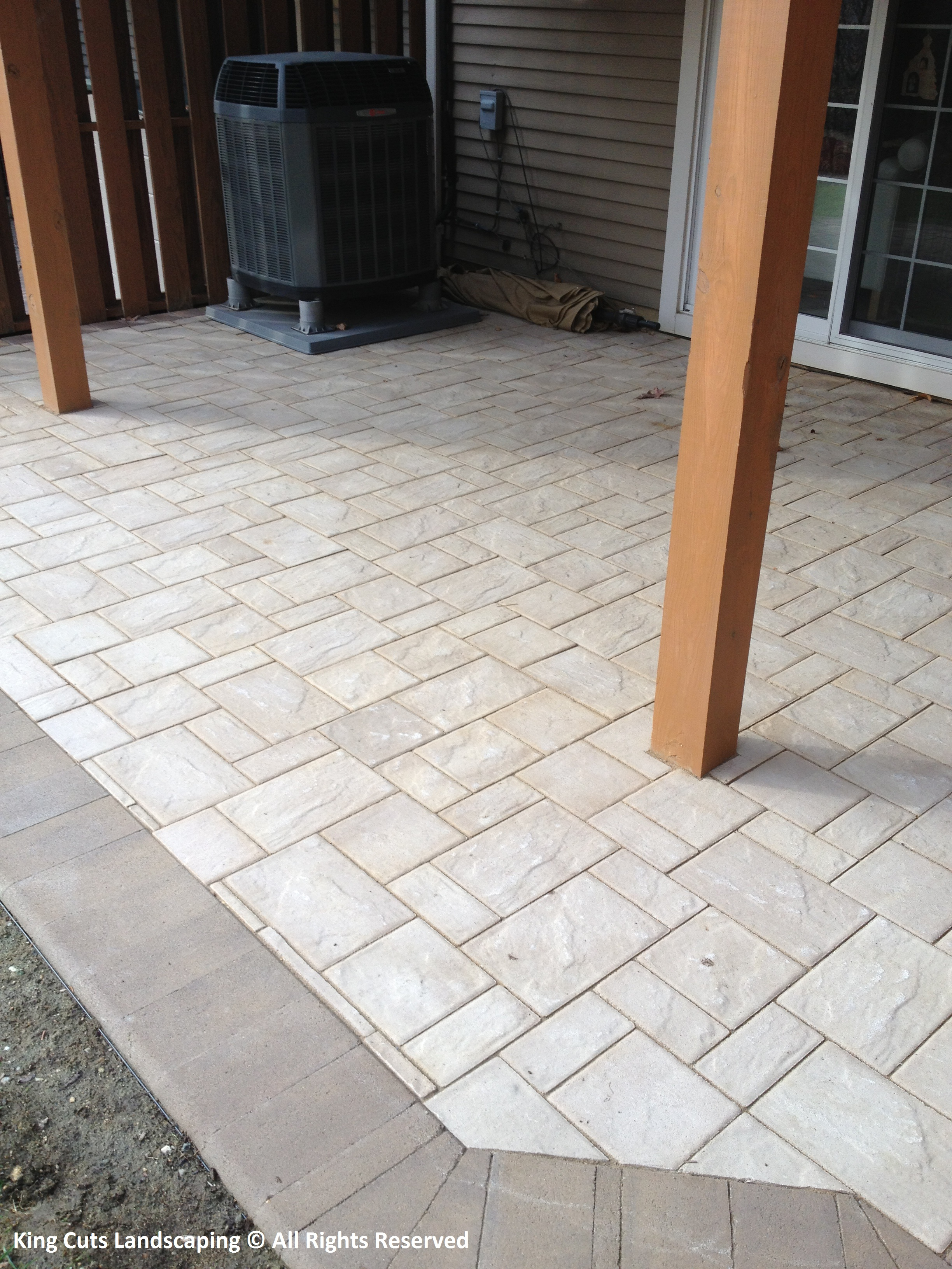 Ellicott City Paver Patio
