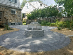 Cheverly Patio Install and Firepit