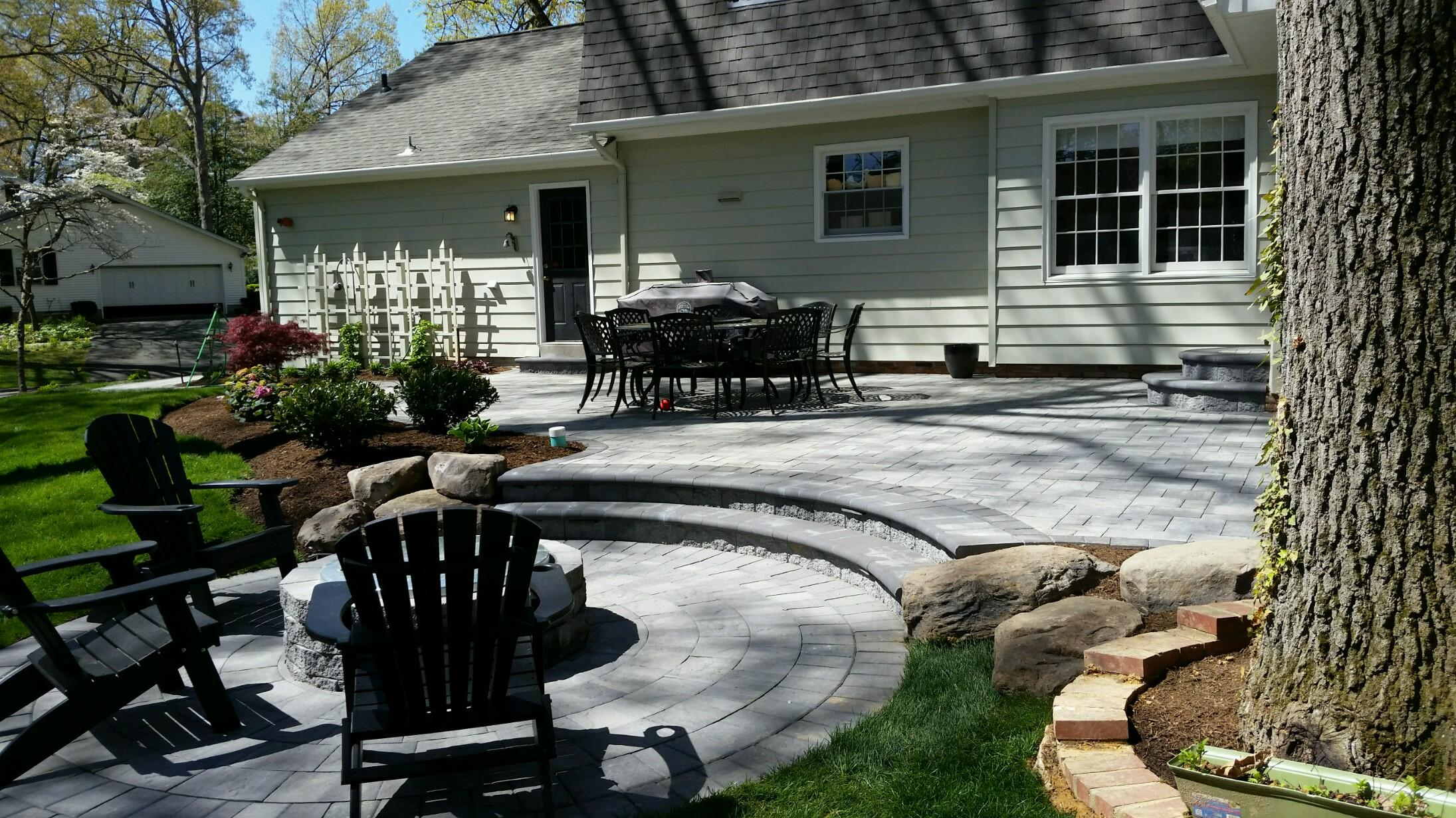 Severna Park Patio and Fire Pit