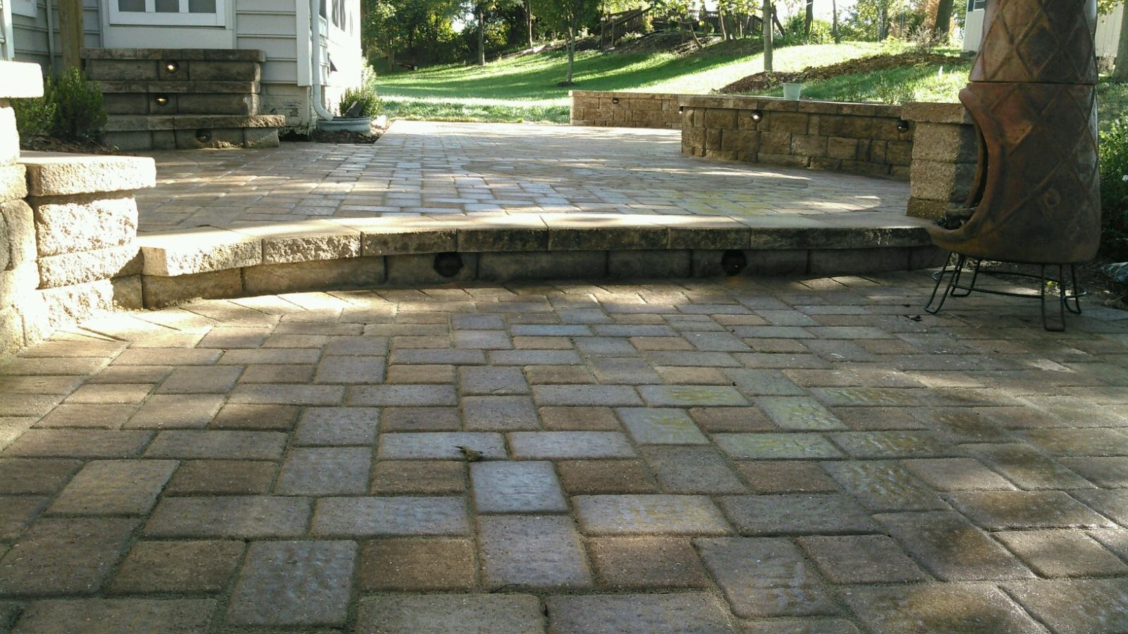 Bowie Paver Patio Install