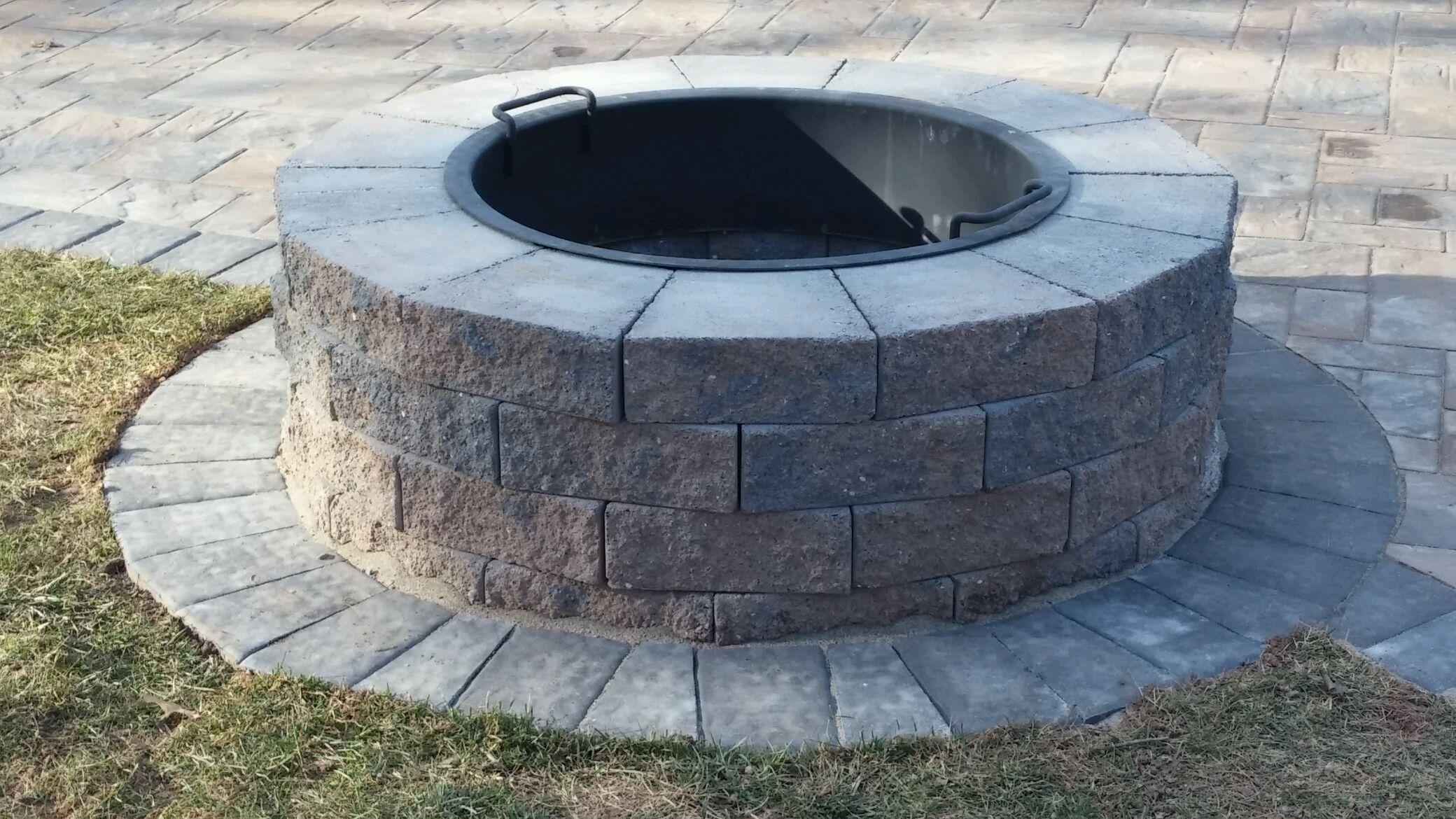 Columbia Fire Pit Install
