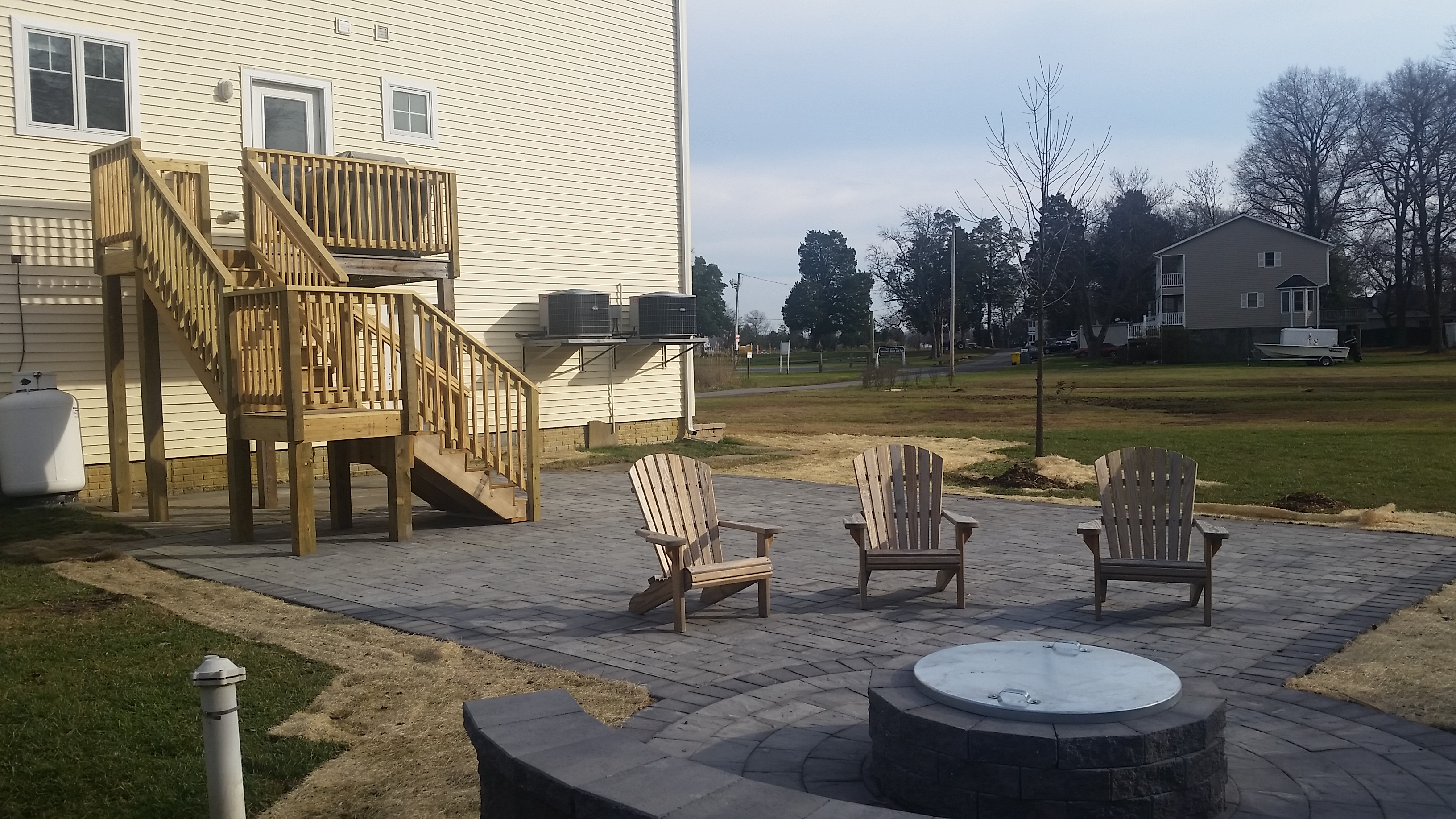 Edgewater Patio and Firepit