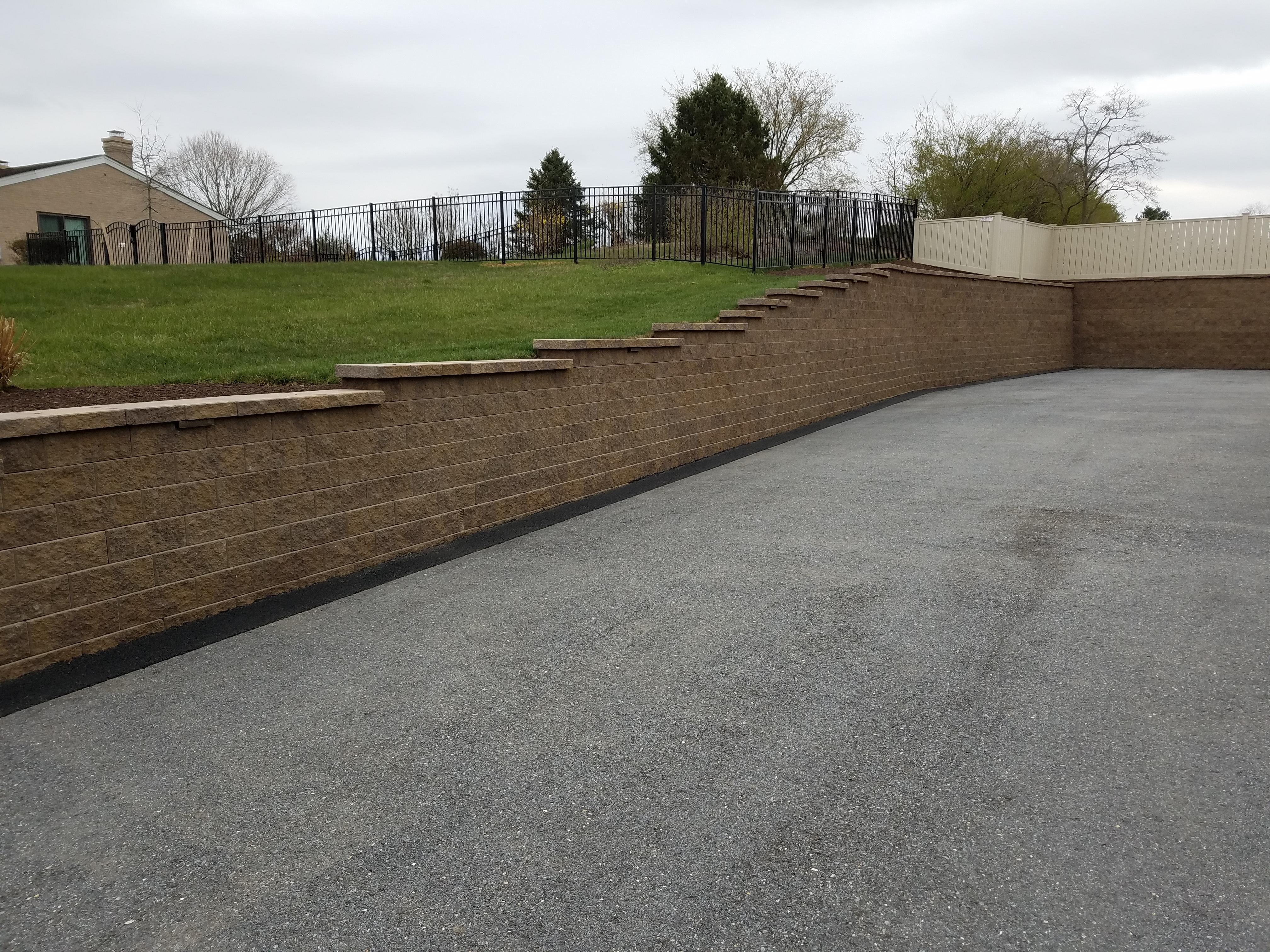 Davidsonville - Retaining Wall