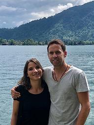 Gastgeber Christine Berry & Alexander Bogner