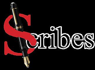Scribes Pen Logo Real pen.png