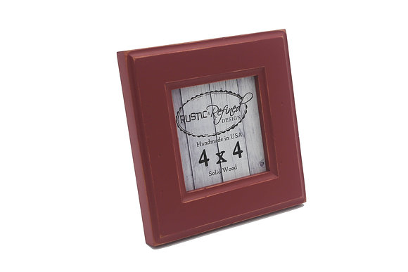 4x4 Moab picture frame - Barn Red