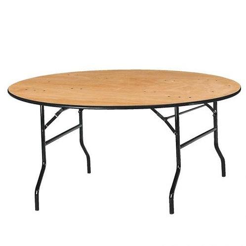 Location Table de réception ronde  8 personnes
