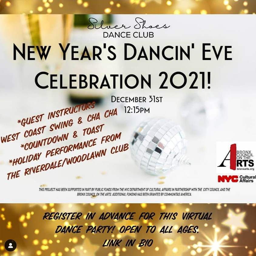 New Year's Dancin' Eve Celebration 2021! (Past Event)