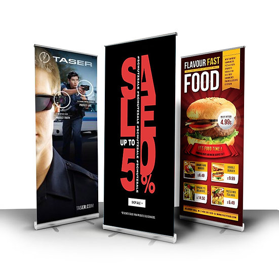 Pull-Up/Standing Banner (single sided)