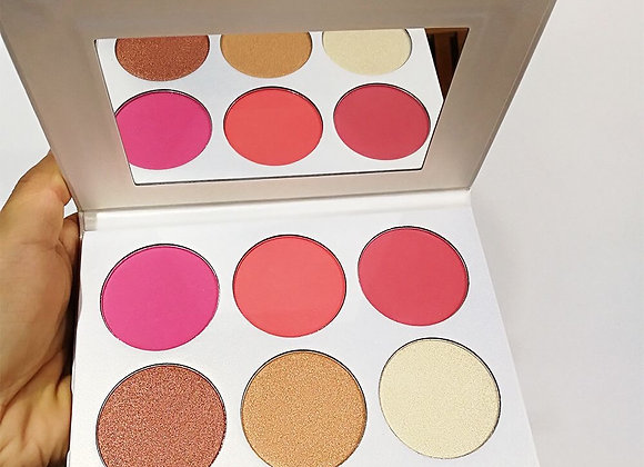Limited Edition Gorgeous 6 in 1 Blush and Highlight
