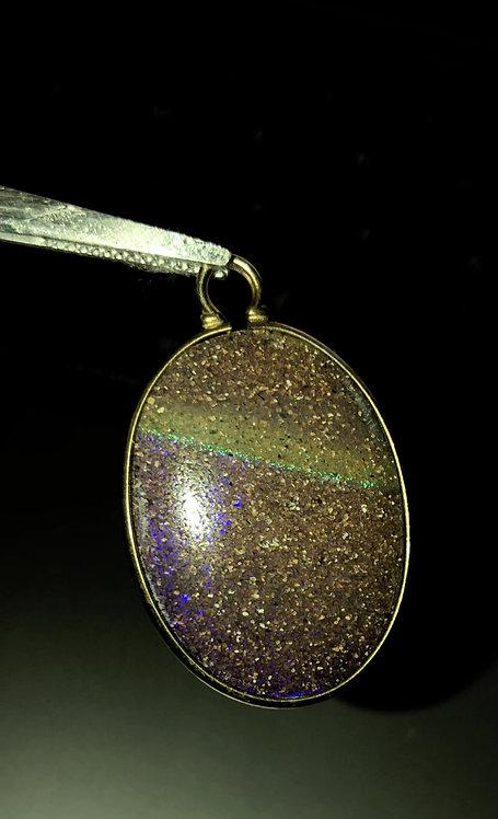 Louisiana Pendant #1  14k gold filled