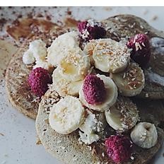 Banana Coconut Pancakes